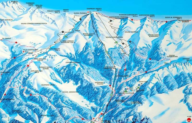 ferie_zimowe_wyciag_narciarski_kasprowy_wierch