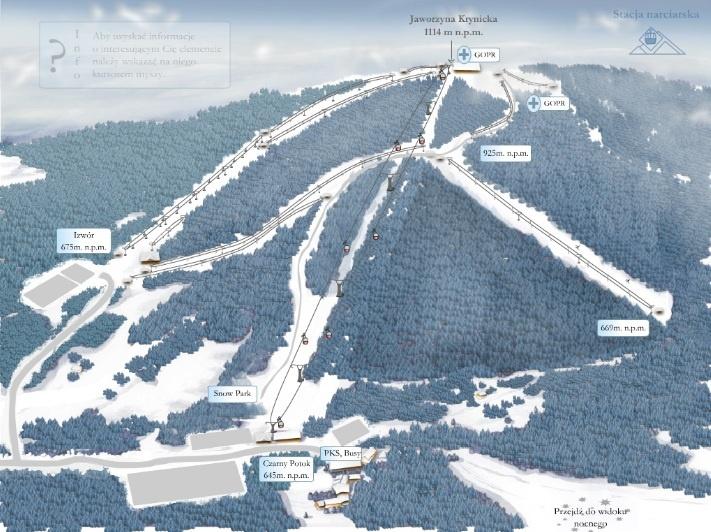 ferie_zimowe_jaworzyna_krynicka_stok_narciarski
