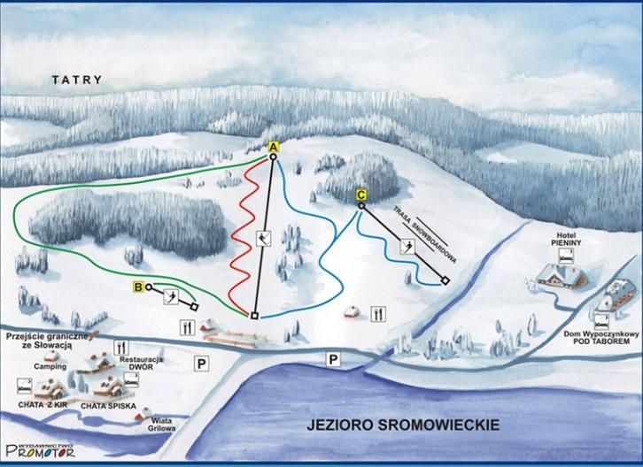 ferie_zimowe_polana_sosny_wyciag_narciarski