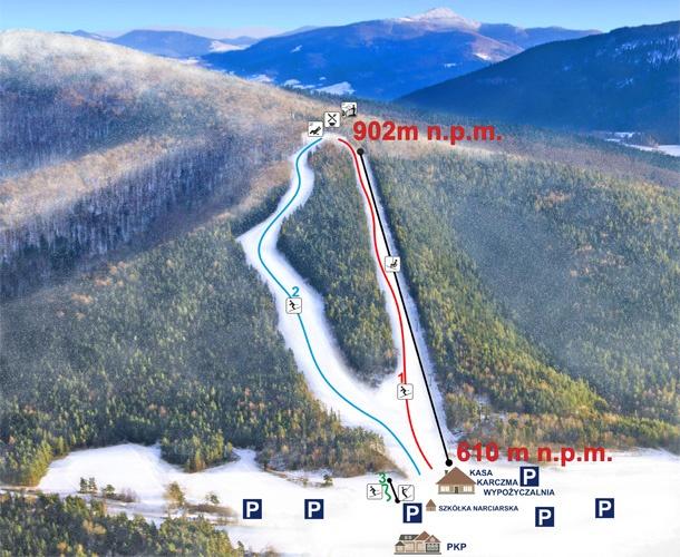 ferie_zimowe_wyciag_narciarski_snieznica_malopolska_narty