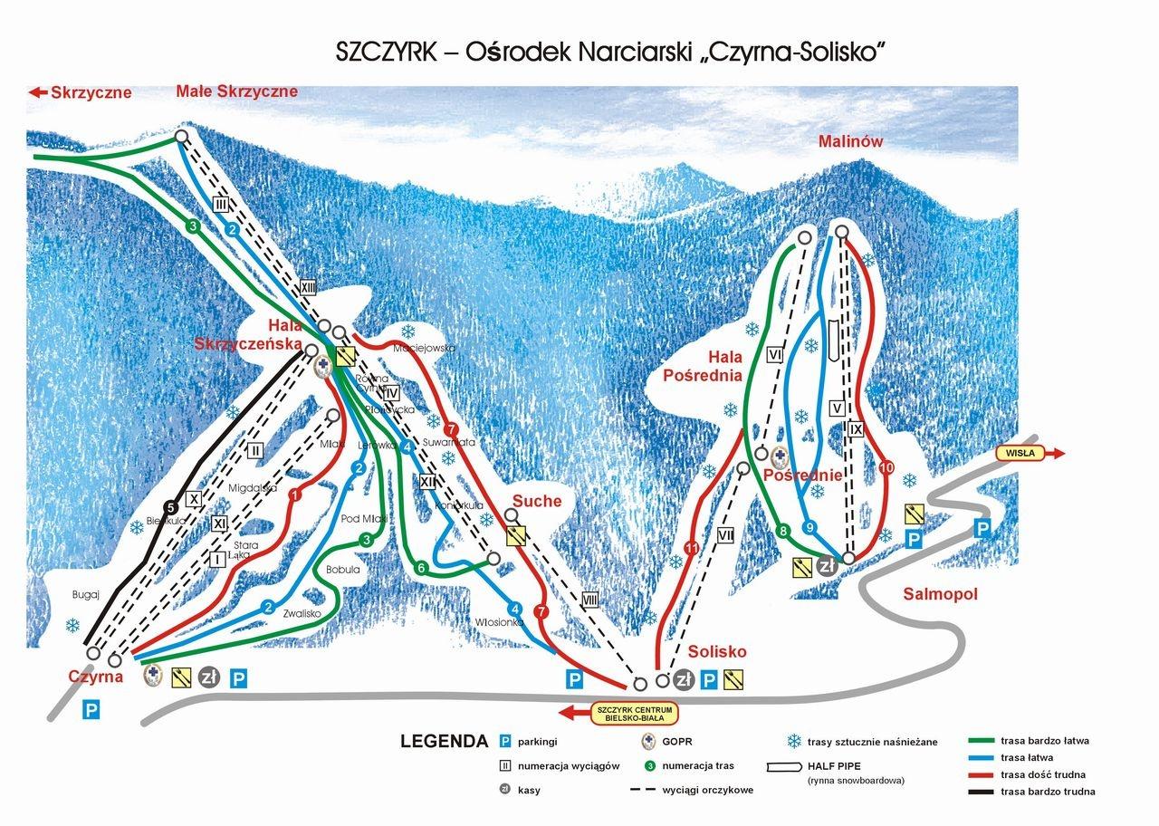 ferie_zimowe_stok_narciarski_slask_czrna_solisko