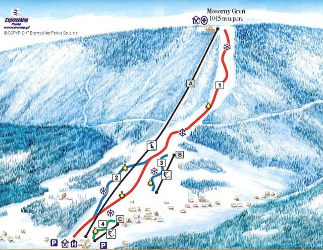 Mosorny_gron_osrodek_narciarski_zawoja